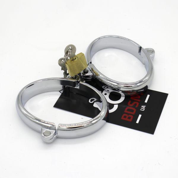 Мужские стальные наручники из стали