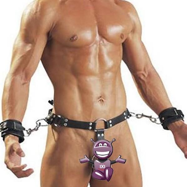 BDSM (БДСМ) - <? print Черный кожаный бондаж прочный; ?>