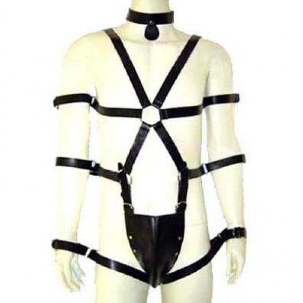 BDSM (БДСМ) - Мужская упряжка для тела R-32