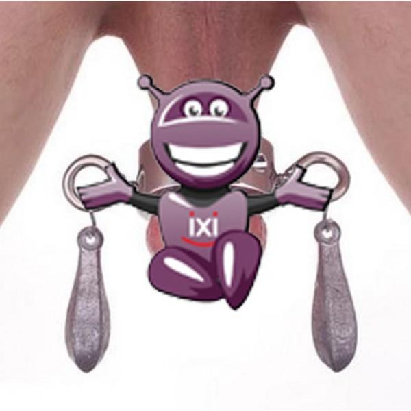 BDSM (БДСМ) - <? print Стальной утяжелитель мошонки - средний размер; ?>