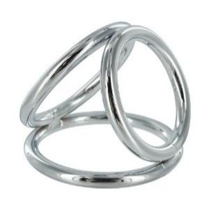 Triple chrome ring