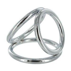 Тройное хромированое кольцо