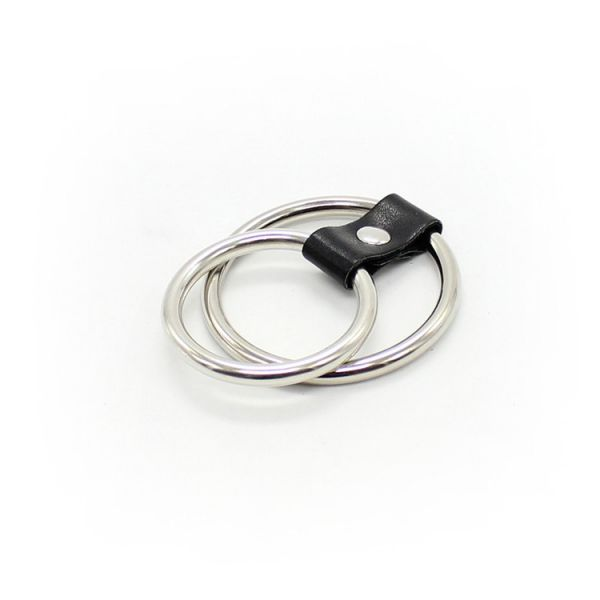 BDSM (БДСМ) - <? print Металлический фиксатор с 2 кольцами; ?>