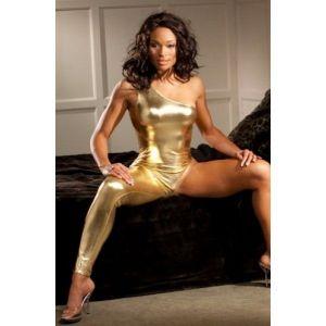 Золотой костюм - Одежда (латекс, винил)