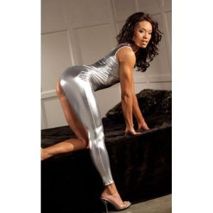 Silver skintight suit. Артикул: IXI14479