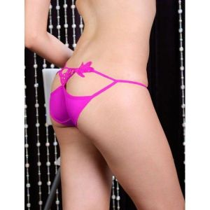Pink Thong with a butterfly. Артикул: IXI14482