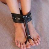 BDSM (БДСМ) - Кожаные наножники из кожи