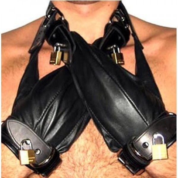 BDSM (БДСМ) - Черный бондаж с замками