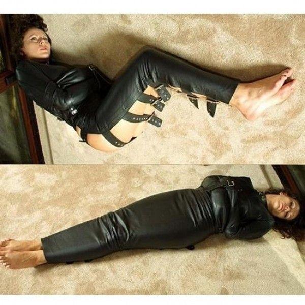 BDSM (БДСМ) - Черный закрытый бондаж