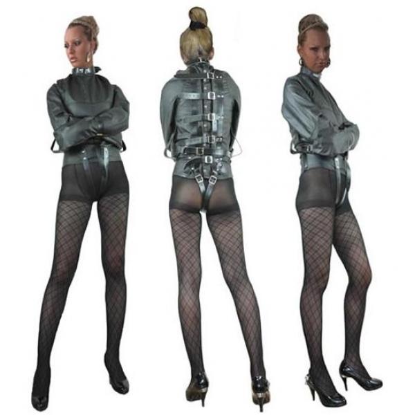 BDSM (БДСМ) - <? print Черный бондаж-жакет; ?>