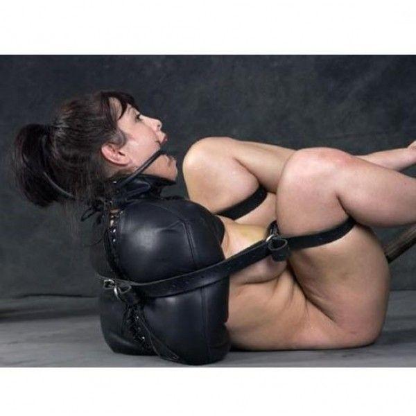 BDSM (БДСМ) - Черный жакет-бондаж