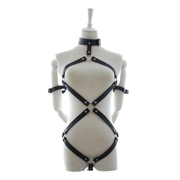BDSM (БДСМ) - Кожаный бондаж - А