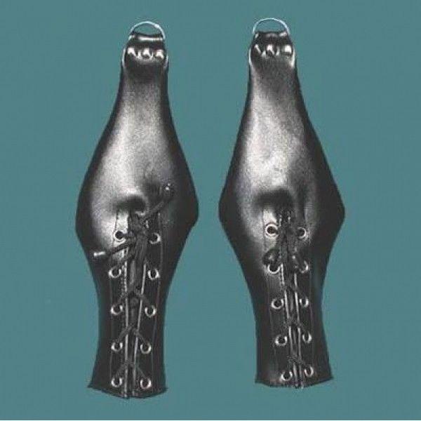 BDSM (БДСМ) - Мужские перчатки-фиксаторы
