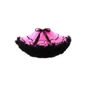 Черно-розовая тюлевая юбочка - Юбки и подъюбники