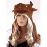 Шапочка быка коричневого цвета цена фото