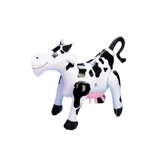 Надувная коровка PVC inflatable Blow up Cow