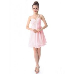 Dress of pink chiffon