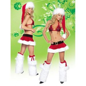 Fancy dress - Santa Stripper. Артикул: IXI14928