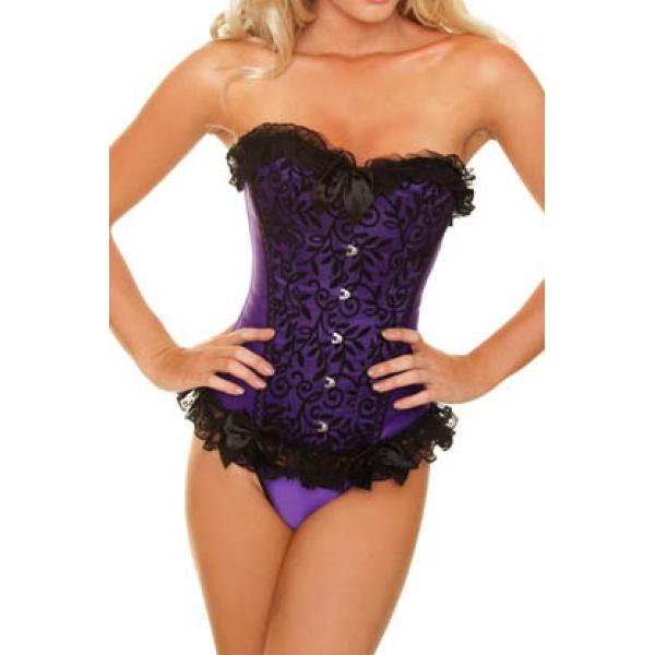Elegant purple corset. Артикул: IXI15004