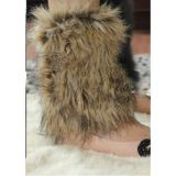 SALE! Short fur leg warmers