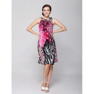 РАСПРОДАЖА! Черное плиссированное платье с цветами