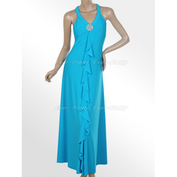 Черно голубое платье доставка
