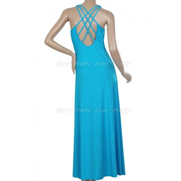 Elegant blue dress. Артикул: IXI15307