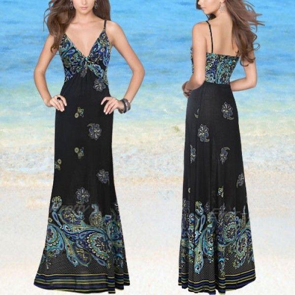 Сексуальное летнее вечернее платье