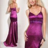 РАСПРОДАЖА! Элегантное вечернее платье пурпурное по оптовой цене