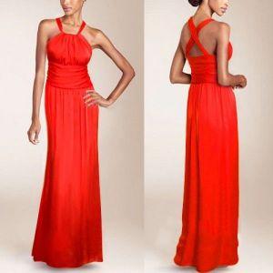 Sexy red evening dress. Артикул: IXI15311