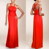 РАСПРОДАЖА! Сексуальное красное вечернее платье