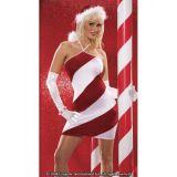 Striped Santa dress