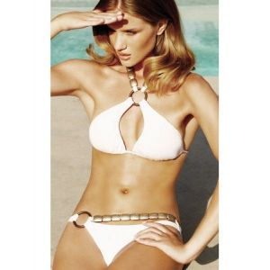 SALE! Elegant white swimsuit