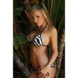 SALE! Bikini print Zebra