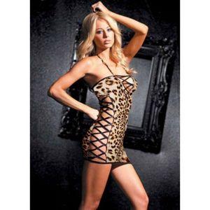 РАСПРОДАЖА! Леопардовый пенюар - Пеньюары