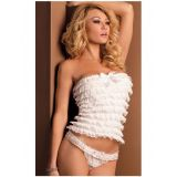 SALE! Underwear burlesque white
