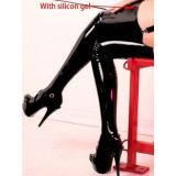 Vinyl stockings black