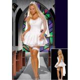 Elegant bride costume