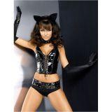 Эротический костюм - Черная кошечка