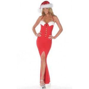 Long dress Santas helpers