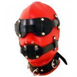 Черно-красная маска по оптовой цене