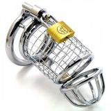 Steel chastity belt stainless steel