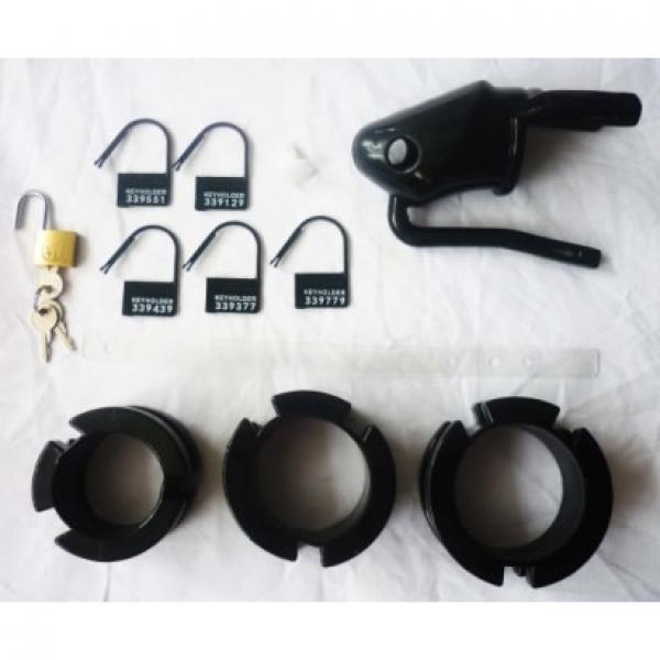 BDSM (БДСМ) - <? print Черное устройство целомудрия черного цвета; ?>