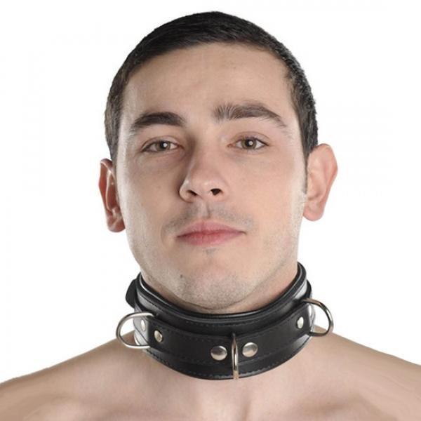 BDSM (БДСМ) - <? print Черный ошейник для мужчин и женщин; ?>
