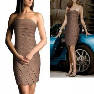 РАСПРОДАЖА! Елегантное вечернее платье ярусное - Вечерние платья