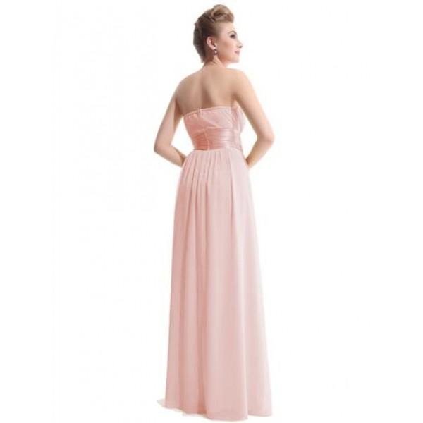 Sexy pink long evening dress. Артикул: IXI16082