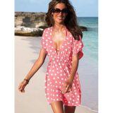 Розовое платье в горох цена фото