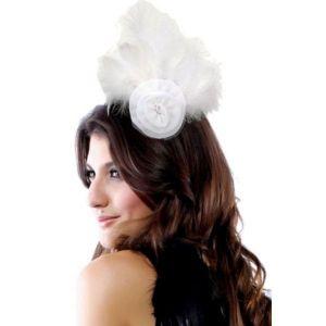 Эксклюзивная белая шляпка - Шляпки, шапки