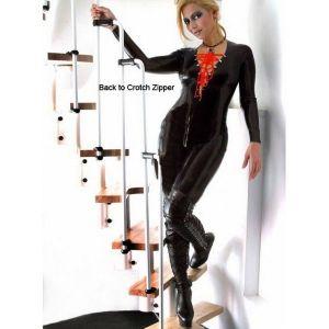 SALE! Erotic vinyl jumpsuit. Артикул: IXI16455
