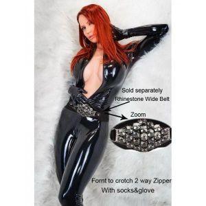 Сексуальный костюм с длинными рукавами - Одежда (латекс, винил)